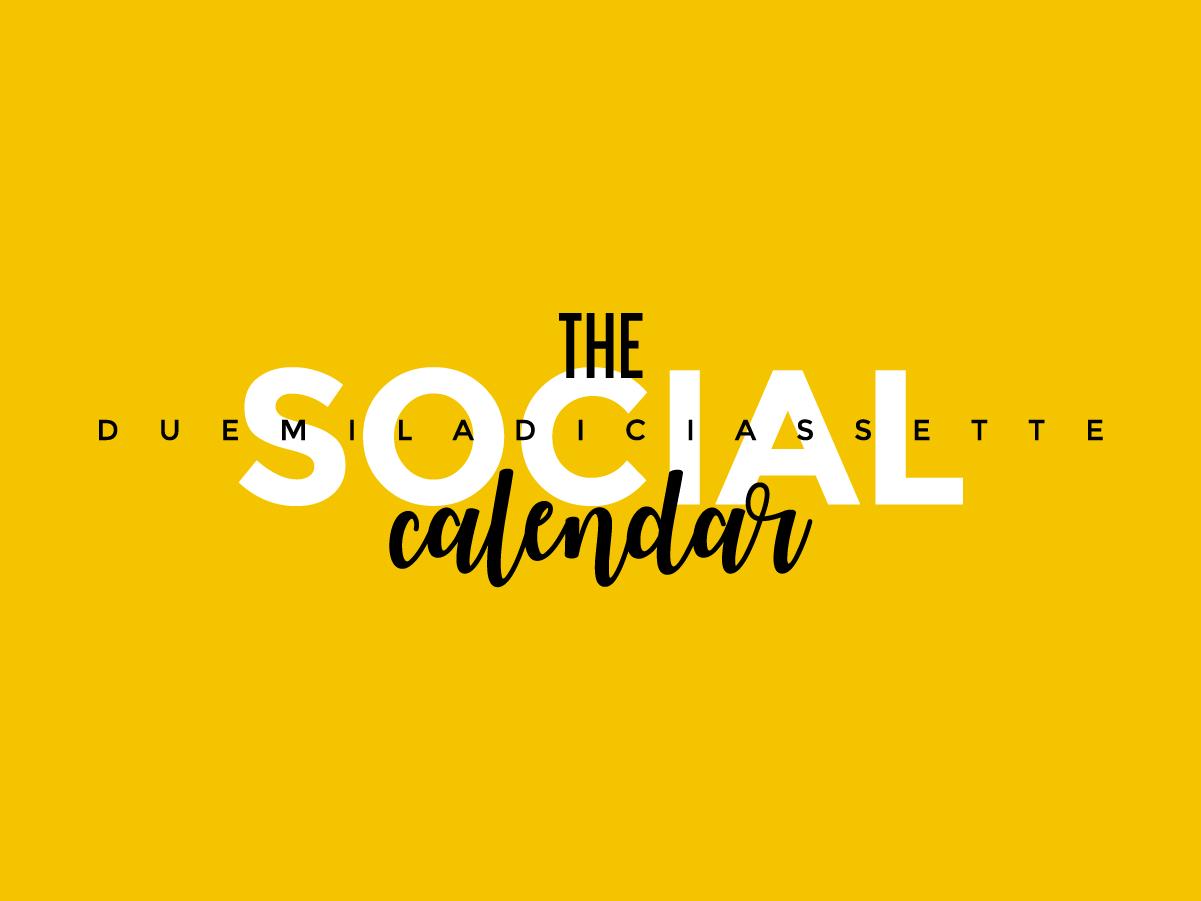 DAB SOCIAL CALENDAR 01 COP - SOCIAL MEDIA CALENDAR