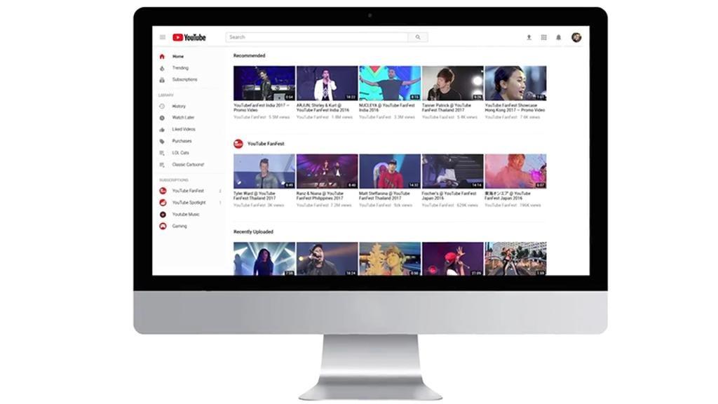 2413 1150242019 - Nuovo look e più funzioni per YouTube